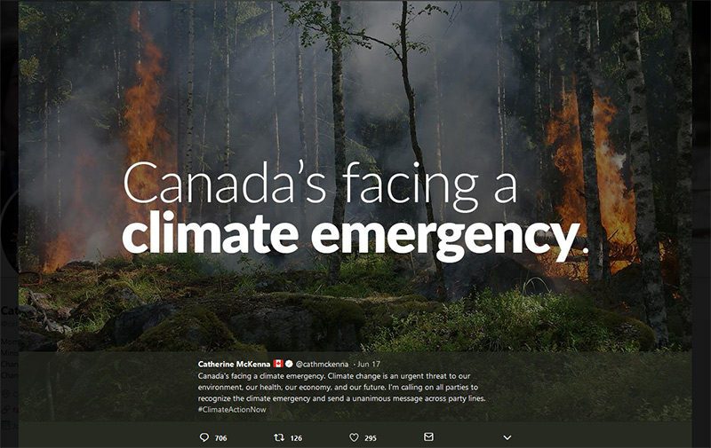 Climate emergency declaration news in June 2019 - Climate